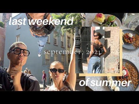 last weekend of