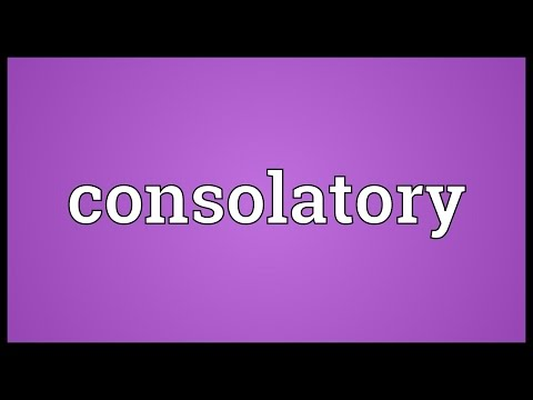 Header of consolatory