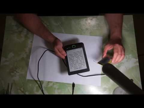 Pocketbook 614. Замена аккумулятора