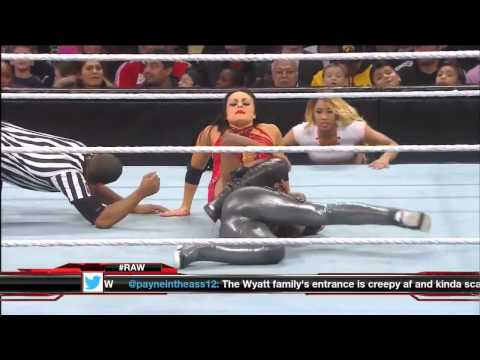 720pHD: RAW 02/03/14 Naomi vs. Aksana