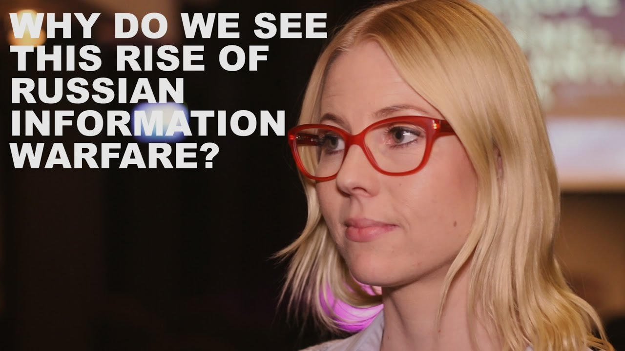 Jessikka Aro On Russian Information Warfare Youtube