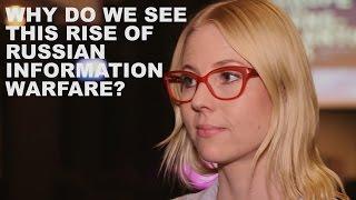 Jessikka Aro on russian information warfare