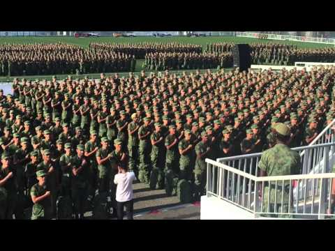 Singapore Army Pledge - With Our Lives @Freddy Kuan