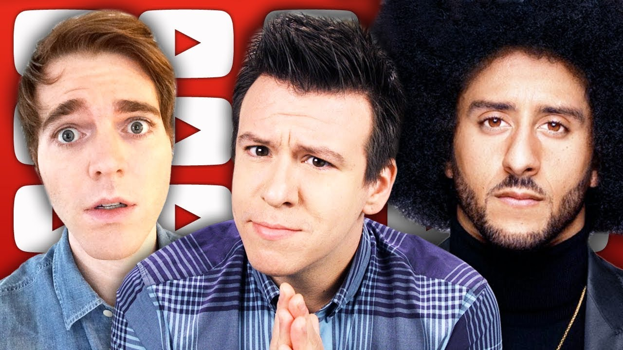 Massive Nike Kaepernick Backlash, Shane Dawson, Jake Paul,