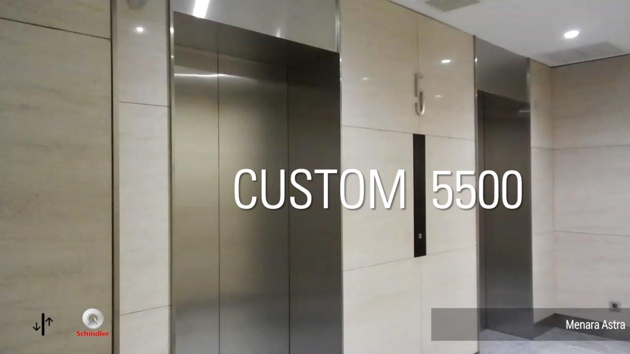 Nice Schindler 5500 Elevators - Menara Astra, Jakarta, ID (Retail) by  IDLift3000