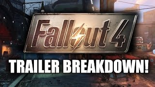 Fallout 4 News: Cinematic Gameplay Trailer Breakdown! A Walkthrough of Features! (Pre-E3 2015)