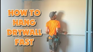 Hanging Drywall - How do I Install Drywall