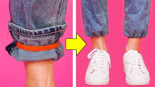 33 BUDGET CLOTHING TRICKS YOU MUST KNOW thumbnail