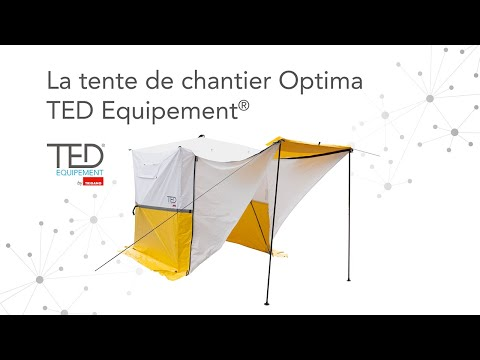 Tente De Chantier Optima Ted Equipement By Trigano Youtube