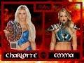 WWE 2K17 Raw Charlotte (C) vs Emma