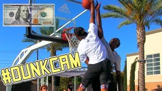 $100 #DunkCam Challenge!!! Chris Staples POSTERIZES Challenger! Video