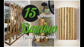 15 Awesome Bamboo Home Decor Ideas