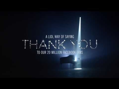 Lidl way of saying thank you by Saara Aalto (20 languages)