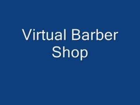 3d music barber shop