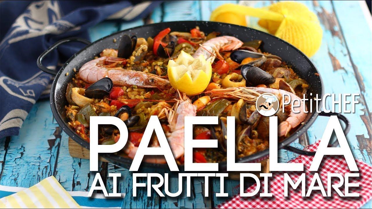 Paella Ai Frutti Di Mare Ricetta Spagnola Tutorial Cucina