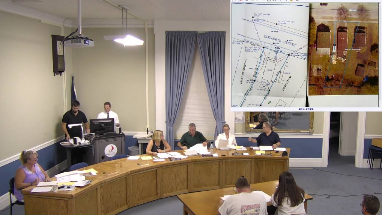 City of Plattsburgh, NY Zoning Board Meeting  9-19-16
