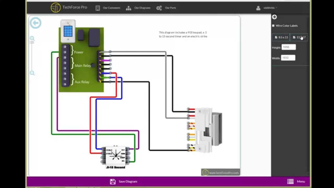 Techforce Pro Access Control Online Wiring Diagram - YouTube