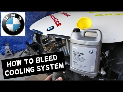 HOW TO BLEED THE COOLING SYSTEM ON BMW E90 E91 E92 E93