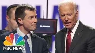 Axios is reporting that former south bend, ind., mayor pete buttigieg will be a part of president-elect joe biden's cabinet. nbc news' hans nichols reports o...
