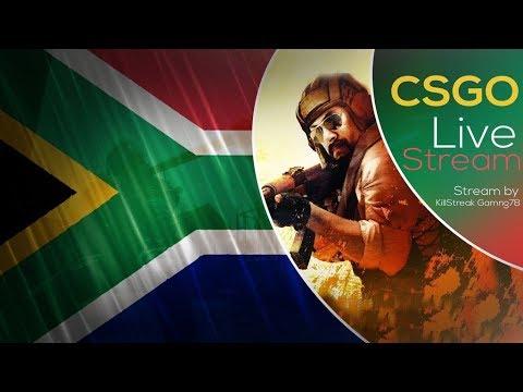 CSGO LIVE// PUBG LIVE// SOUTH AFRICAN STREAMER