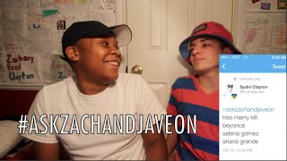#AskZachAndJaveon