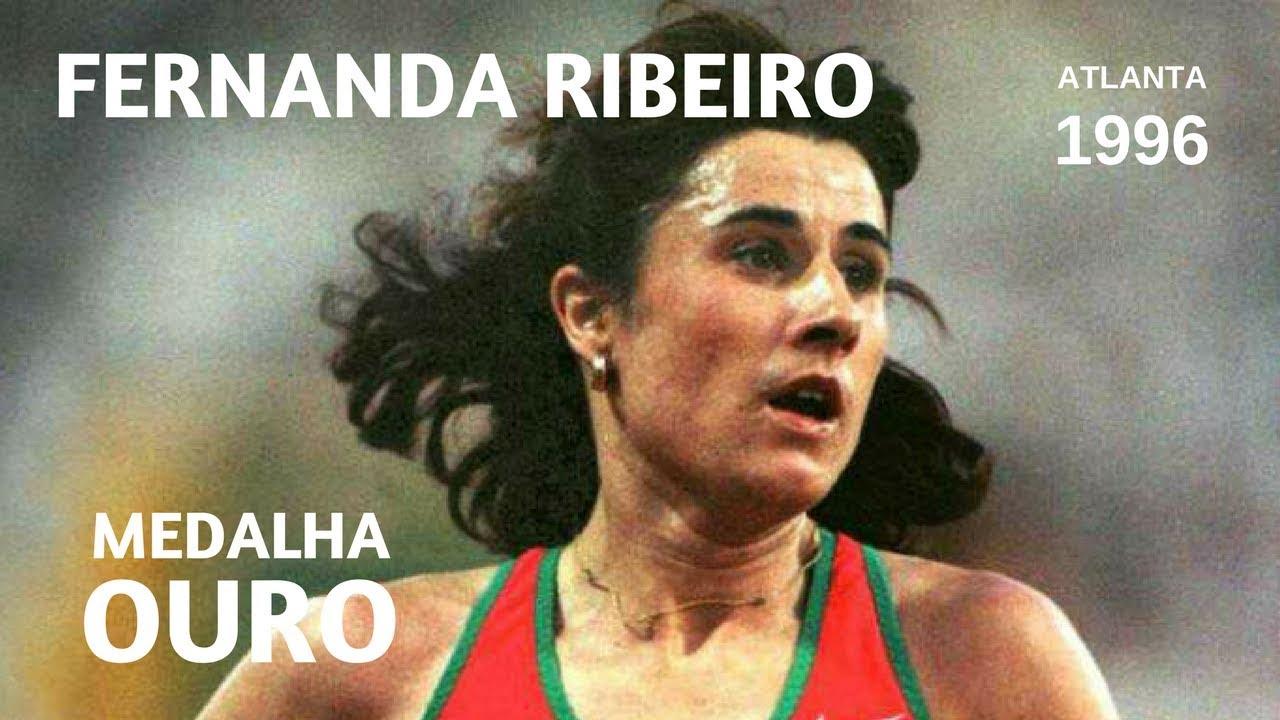 Fernanda Ribeiro - Medalha de Ouro (Jogos Olímpicos Atlanta, 1996)
