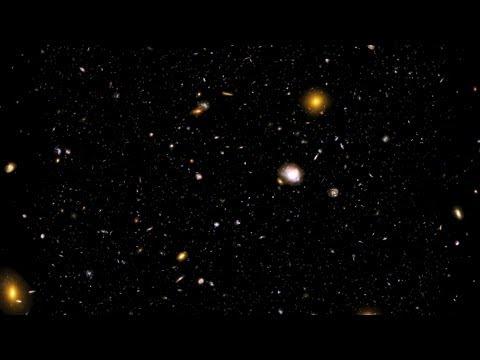 Across the Universe: Hubble Ultra Deep Field
