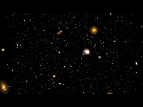 Across the Universe: Hubble Ultra Deep Field