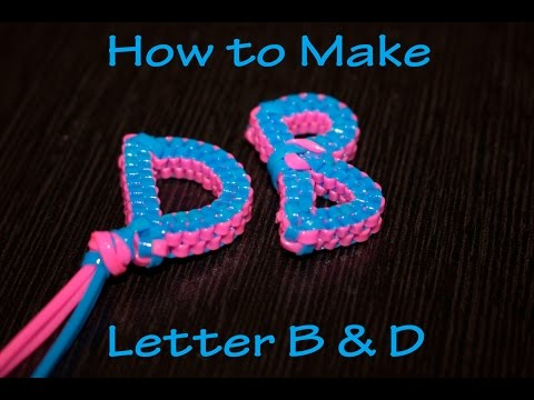 How to Make Letter B & D