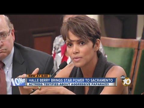 Actress Halle Berry testifies in Sacramento in favor of California paparazzi bill