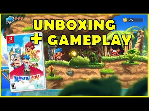 Monster Boy and the Cursed Kingdom: unboxing y primeros minutos thumbnail
