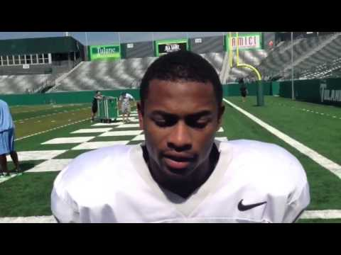 Lorenzo Doss says big crowds will give Tulane edge at home | Video