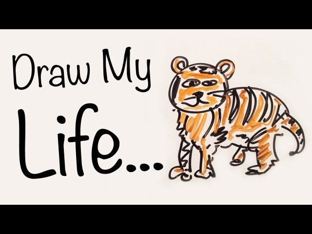 draw my life tiger edition big cat rescue