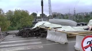 Хроніки ремонту Парковського мосту р. Орєхово-Зуєво 1 частина