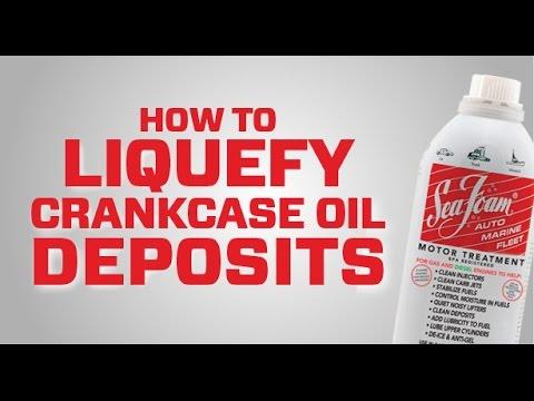 Sea Foam Official video: How to liquefy crankcase oil
