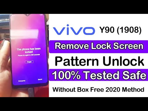 Vivo Y90 (1908) Remove Screen Lock,Pin,Pattern Without Box 100% Tested 2...