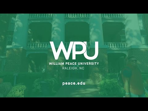 William Peace University (WPU) in Raleigh, NC