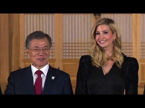 JO-2018: Ivanka Trump en Corée du Sud pour la clôture des JO