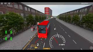 Roblox East London Project V3 MCV Evoseti Go Ahead London Blue Triangle Route 474 Return