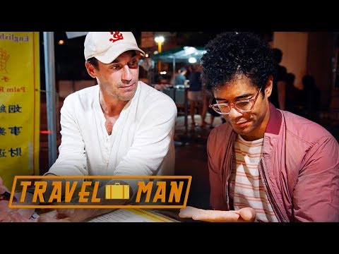 Palm Reader has Bad News For Richard Ayoade | 48hrs in...Hong Kong