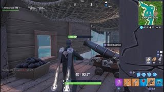 Fortnite Week 4 easiest way to destroy structures with pirate cannon
