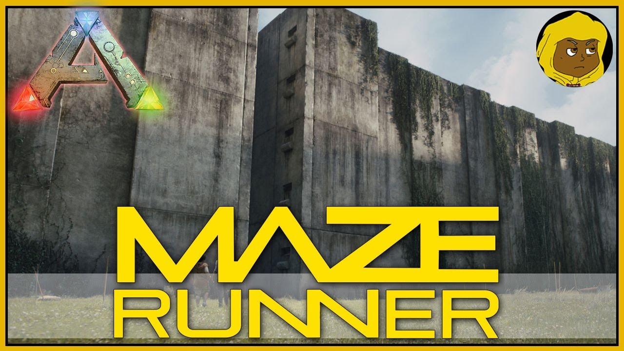 MAZE RUNNER MAP - ARK SURVIVAL EVOLVED - YouTube