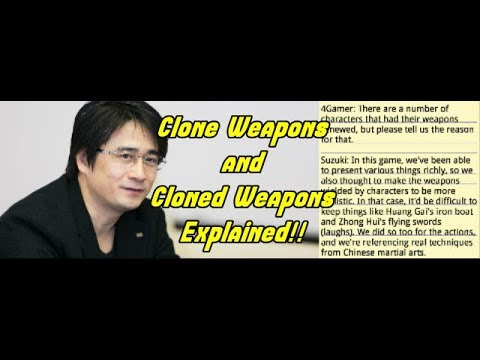 Dynasty Warriors 9 Producer Akihiro Suzuki Explains Clone Weapons and Cloned Movesets