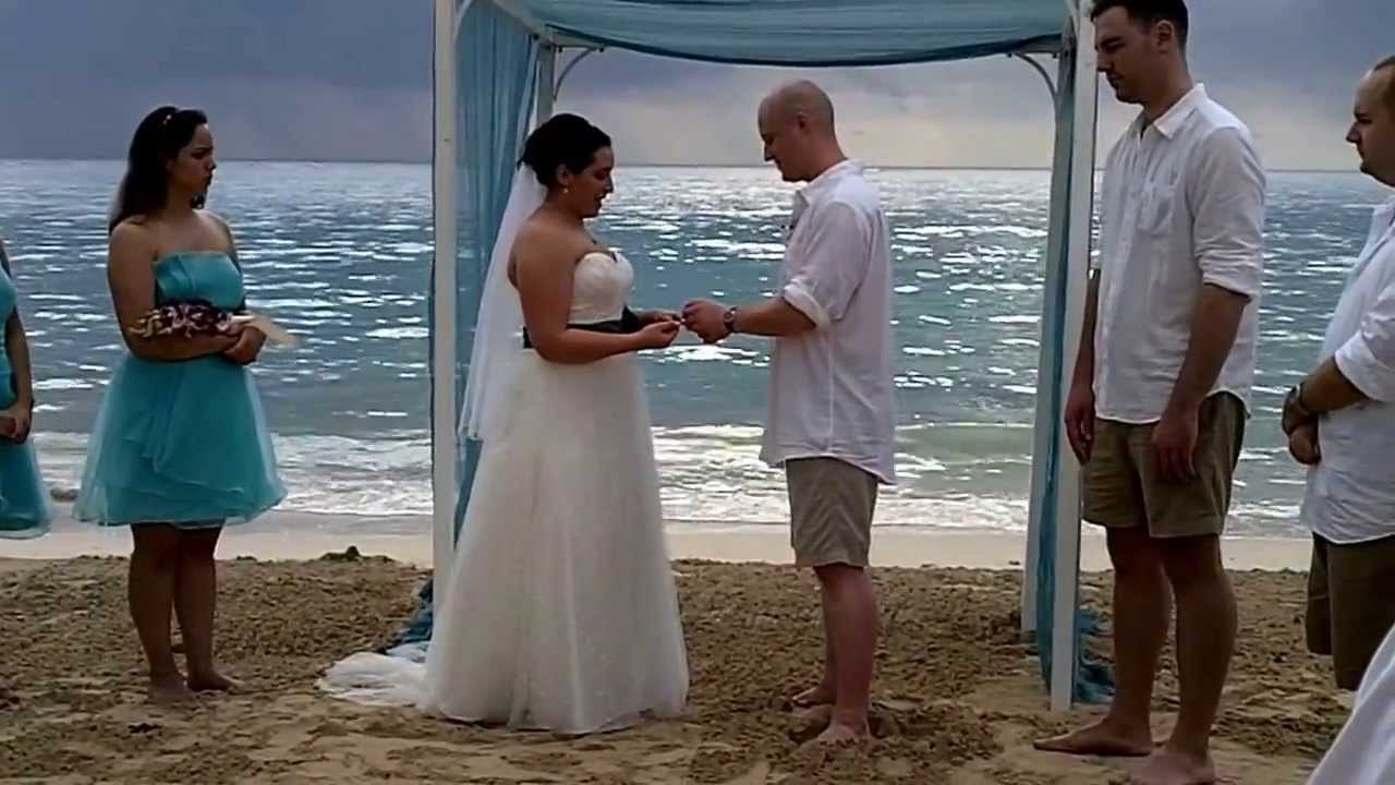 Sandals Whitehouse Jamaica Wedding