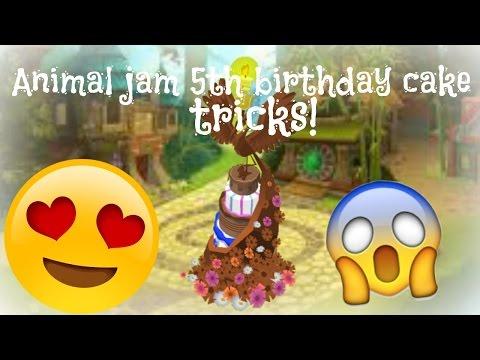 Tricks for AJ 5th Birthday Cake! - YouTube