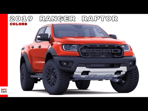 Ford Ranger Raptor Colors