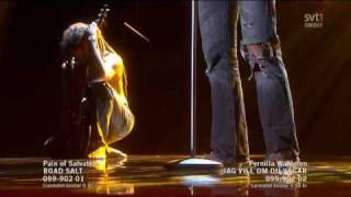Pain Of Salvation - Road Salt (Live Melodifestivalen Andra Chansen 2010)