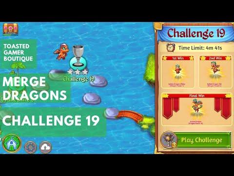 Merge dragons herausforderung 19