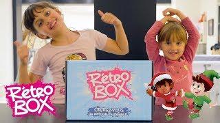 RETRO BOX DE NOËL • A regarder AVEC vos parents pour la nostalgie !! - Studio Bubble Tea