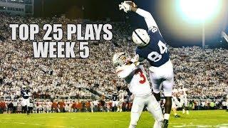 College Football Top 25 Plays 2018-19    Week 5 ᴴᴰ